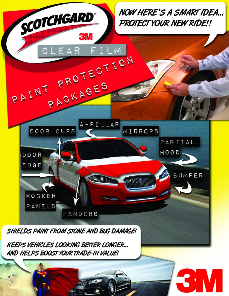 3m paint protection film by Ming, thunder bay for your vehicle